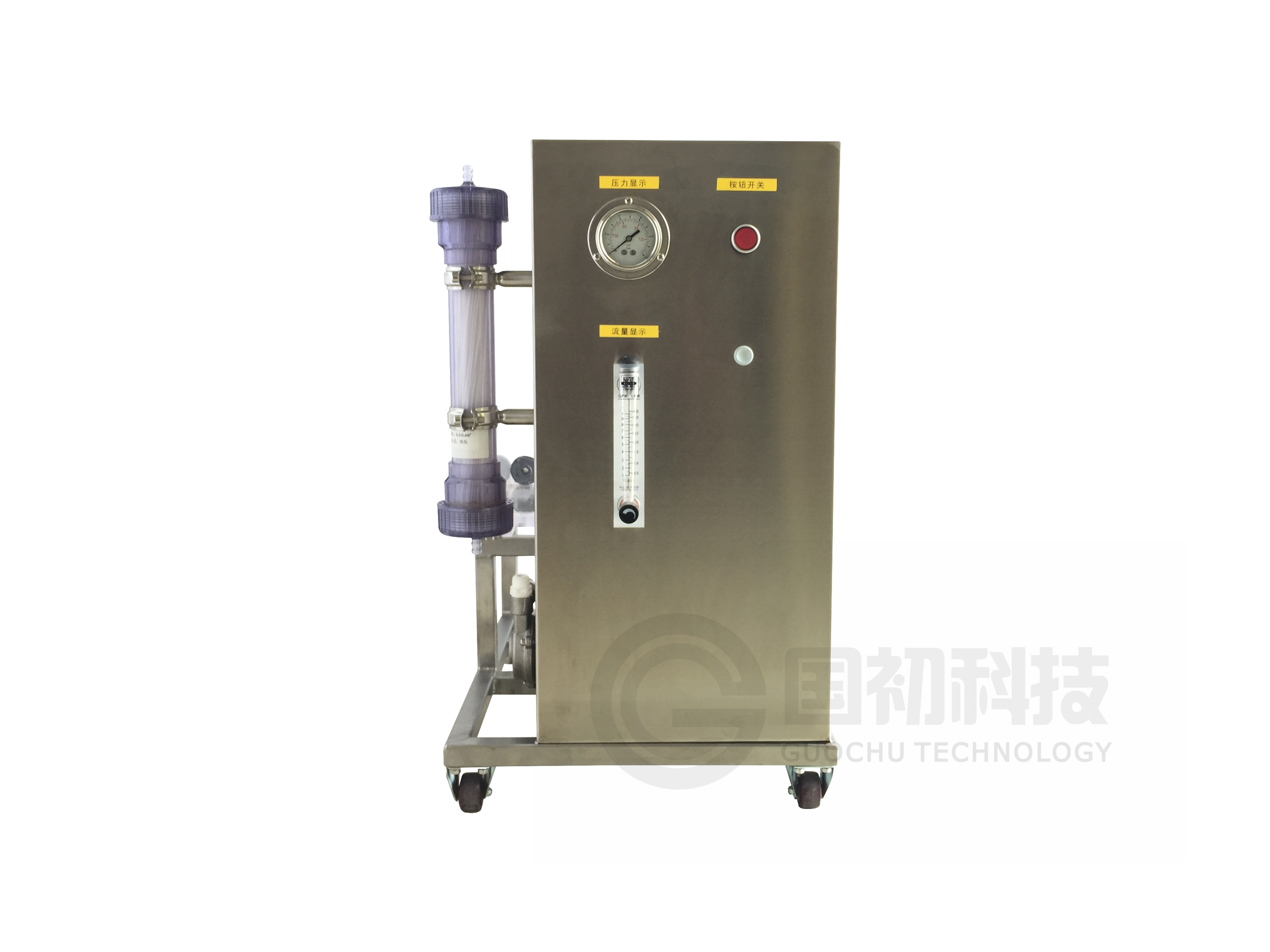 Hollow ultrafiltration membrane experimental equipment